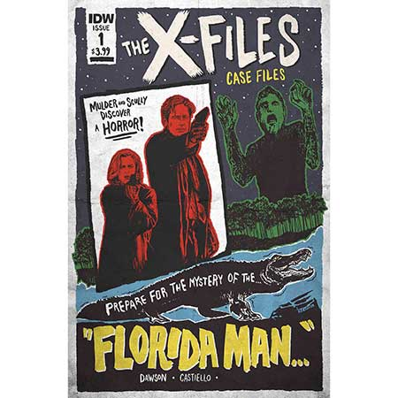 X-Files Case Files Florida Man #1 Cover B Lendl