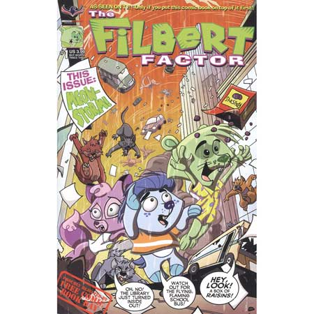 Filbert Factor #1 Rejected By Free Comic Book Day