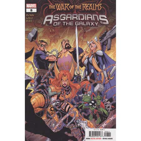 Asgardians Of The Galaxy #8