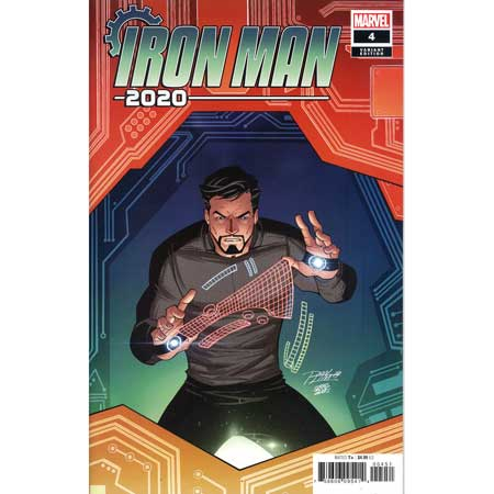 Iron Man 2020 #4 Ron Lim Variant