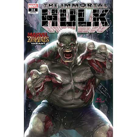 Immortal Hulk #34 Inhyuk Lee Marvel Zombies Variant
