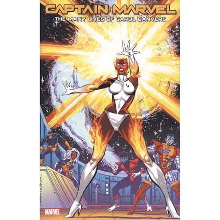 Captain Marvel Many Lives Carol Danvers