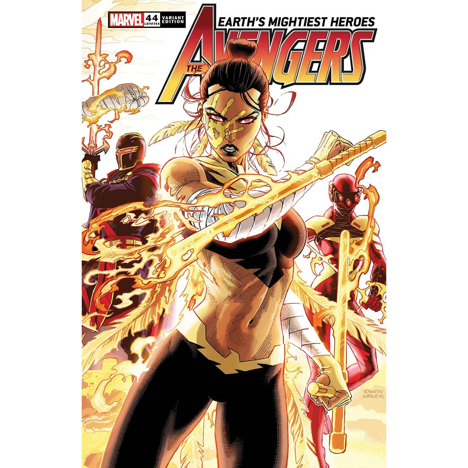 Avengers #44 Weaver Connecting Variant