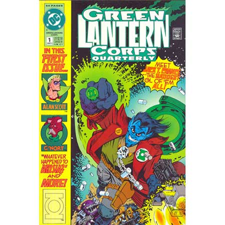 Green Lantern Corps Quarterly #1