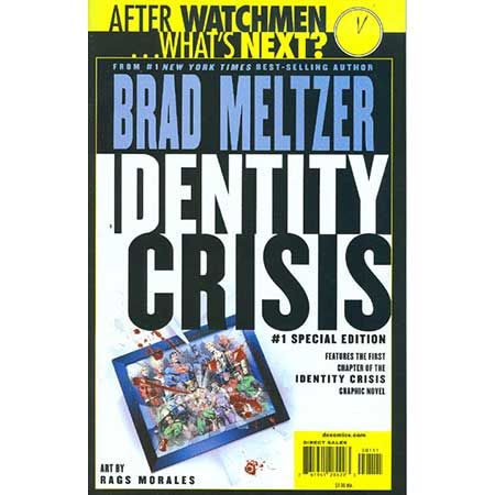 Identity Crisis # 1 Special Edition