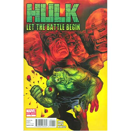 Hulk Let Battle Begin #1