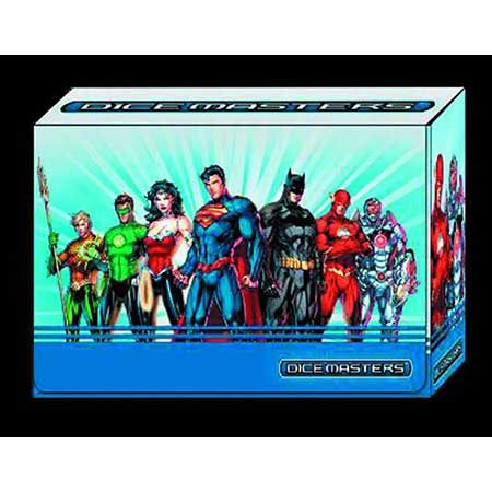 DC Dice Masters Justice League Magnetic Dice Box