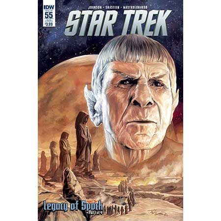 Star Trek #55 Subscription Variant
