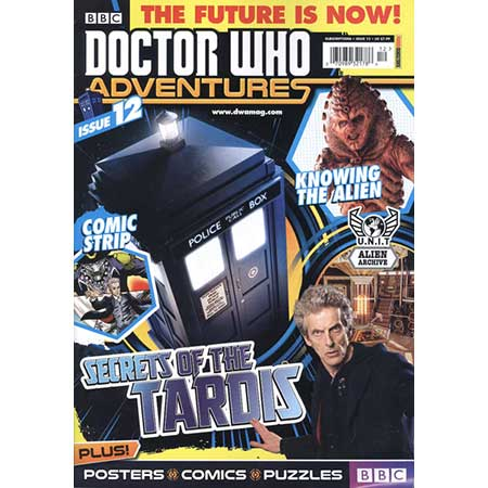 Doctor Who Adventures Magazine #12