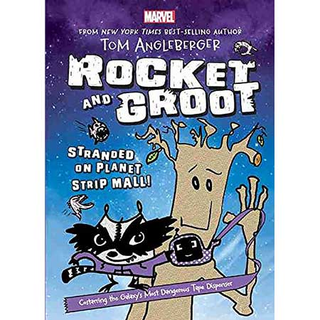 Rocket & Groot Stranded On Planet Stripmall