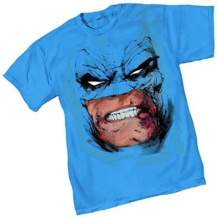 Dark Knight III Face By Jock T-Shirt