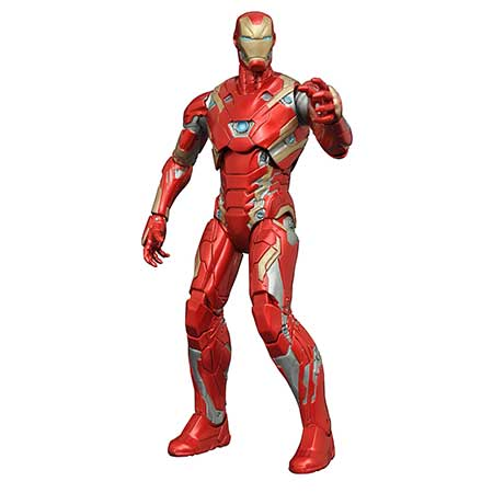 Marvel Select Captain America 3 Iron Man Mk45 Action Figure
