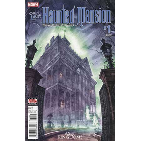 Haunted Mansion #1 2nd ptg