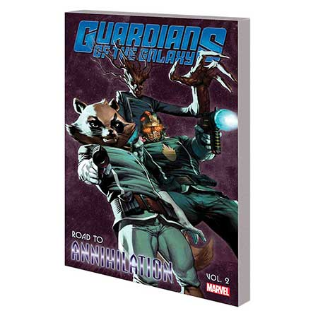 Guardians Of Galaxy Vol 2 Road To Annihilation