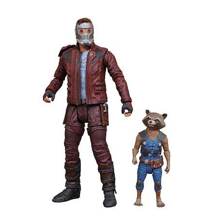 Marvel Select Guardians Of The Galaxy 2 Star-Lord & Rocket Action Figure