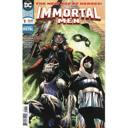 Immortal Men #1