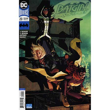 Batgirl And The Birds Of Prey #20 Variant