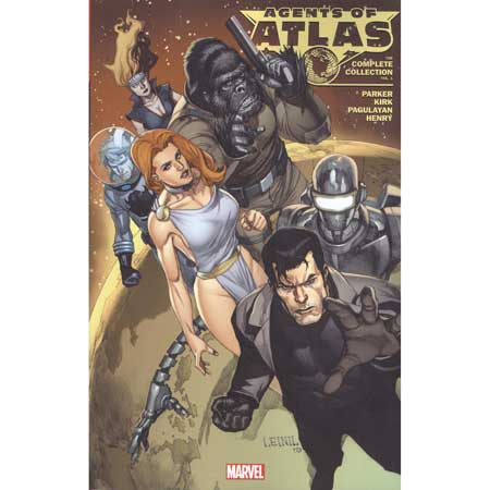 Agents Of Atlas Complete Collection Vol 1