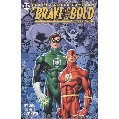Flash Green Lantern Brave & The Bold Deluxe Edition