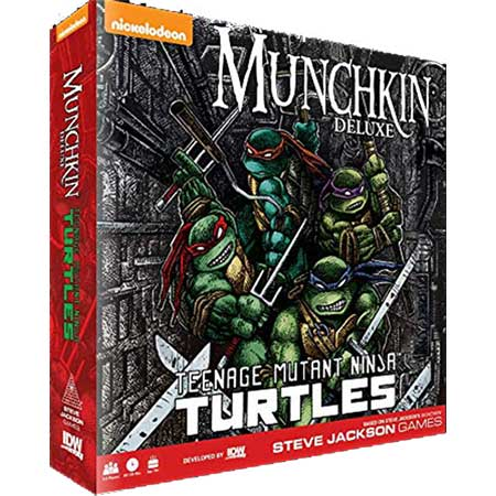 Munchkin Teenage Mutant Ninja Turtles Deluxe Edition