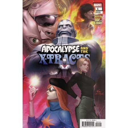 Age Of X-Man Apocalypse And X-Tracts #1 Inhyuk Lee Variant