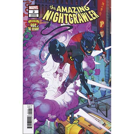 Age Of X-Man Amazing Nightcrawler #2 Petrovich 1:25 Variant