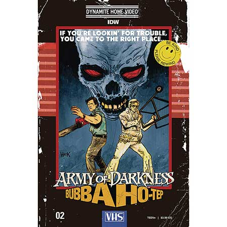 Army Of Darkness Bubba Hotep #2 Cover C Hack