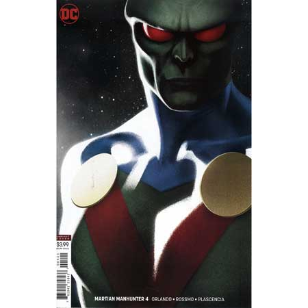 Martian Manhunter #4 Cover B