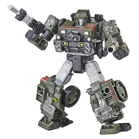 Transformers Generations War for Cybertron Deluxe Hound Action Figure