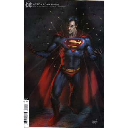Action Comics #1021 Parrillo Variant