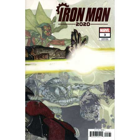 Iron Man 2020 #3 Bianchi Connecting Variant