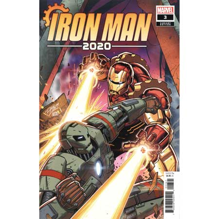 Iron Man 2020 #3 Ron Lim Variant