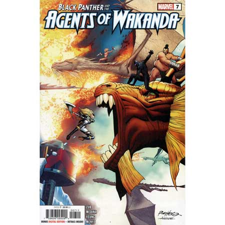 Black Panther And Agents Of Wakanda #7