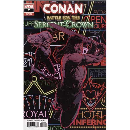 Conan Battle For Serpent Crown #2 Christopher Variant