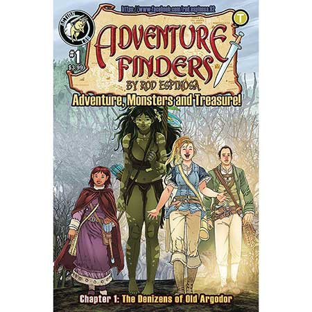 Adventure Finders Vol 3 #1