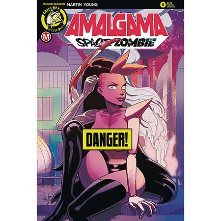 Amalgama Space Zombie #6 Cover B Young Risque