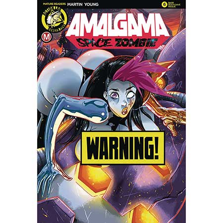 Amalgama Space Zombie #6 Cover D Rudetoons Reynolds Risque