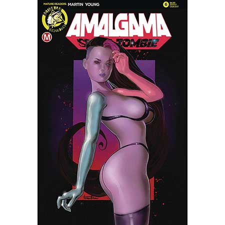 Amalgama Space Zombie #6 Cover E Herman