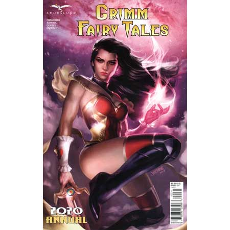 Grimm Fairy Tales 2020 Annual Cover C Burns