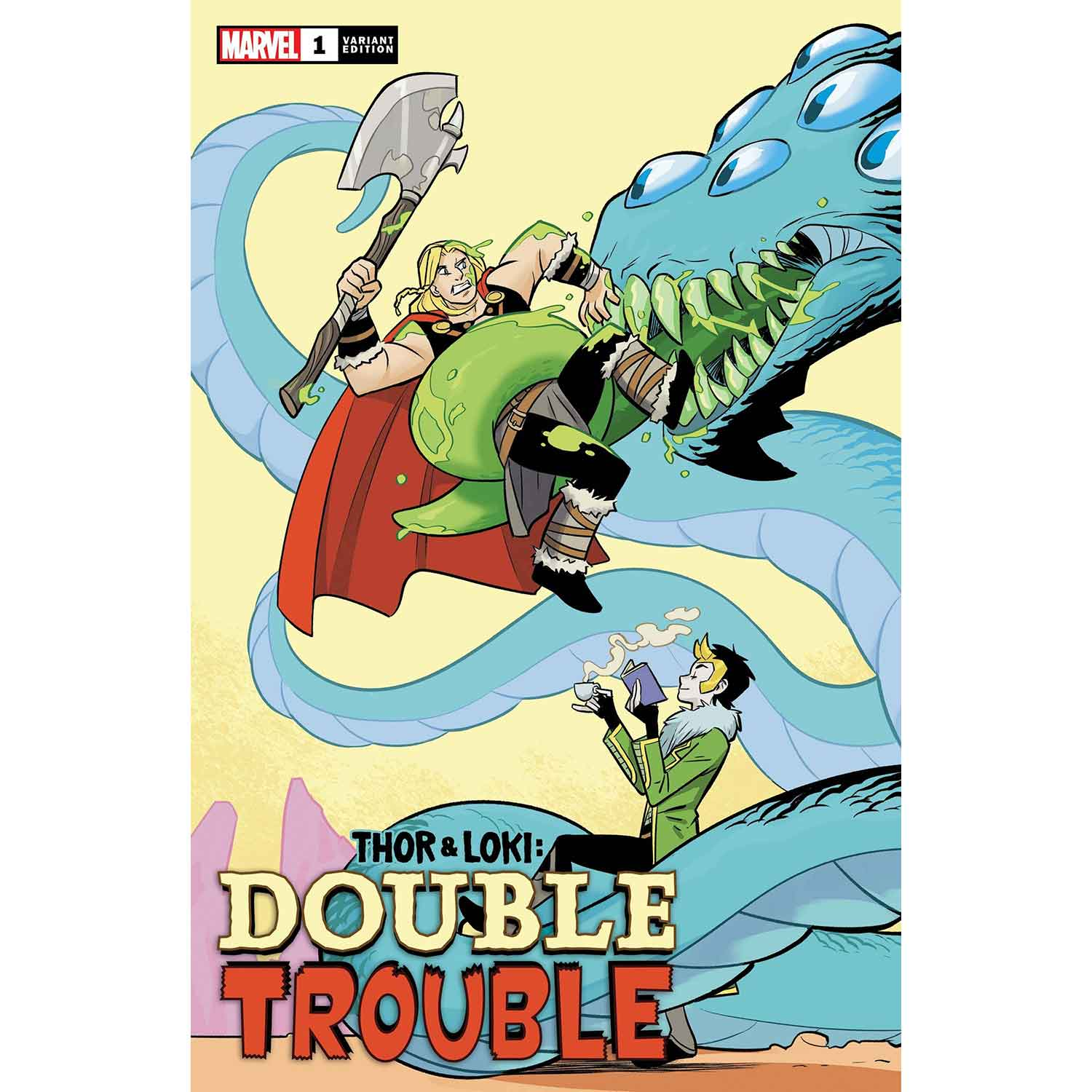 Thor And Loki Double Trouble #1 Bustos 1:25 Variant