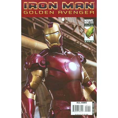Iron Man Golden Avenger