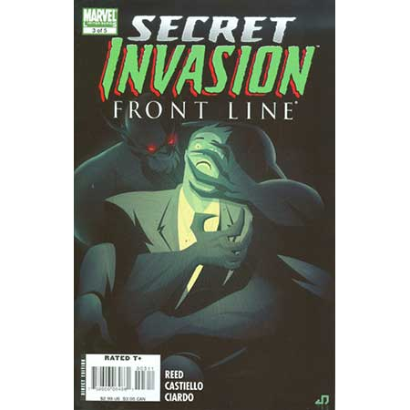Secret Invasion Front Line #3