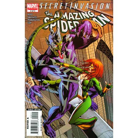 Secret Invasion Amazing Spider-Man #2