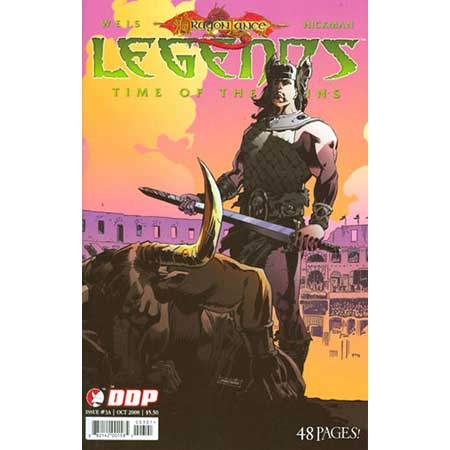 Dragonlance Legends Time Of The Twins #3