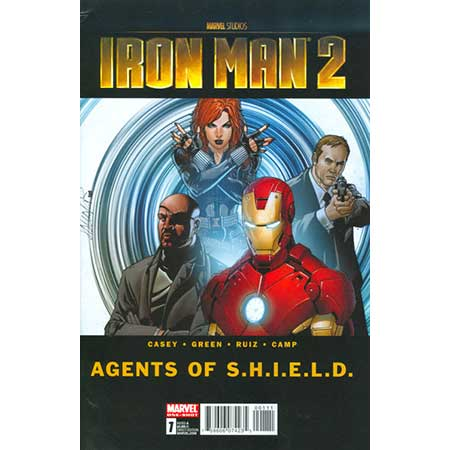 Iron Man 2 Agents Of Shield #1
