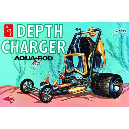 Depth Charger Aqua-Rod 1/25 Model Kit