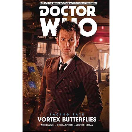 Doctor Who 10Th Facing Fate Vol 2 Vortex Butterflies