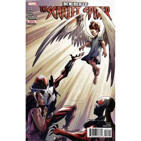 Ben Reilly Scarlet Spider #23