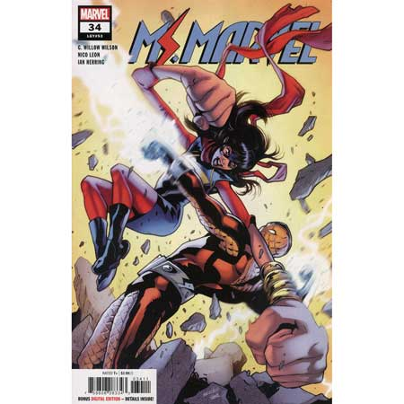Ms Marvel #34