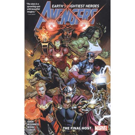 Avengers By Jason Aaron Vol 1 Final Host